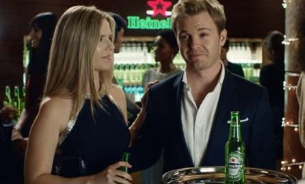 Heineken Nico Rosberg Commercial