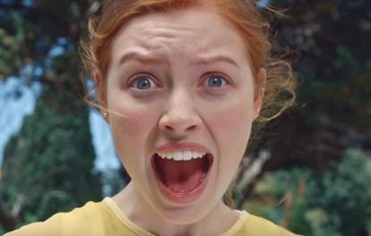 Schreiende Frau - Nivea Soft Mix Me Werbung