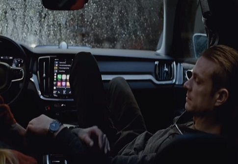 Actor Joel Kinnaman in Volvo V60 Commercial