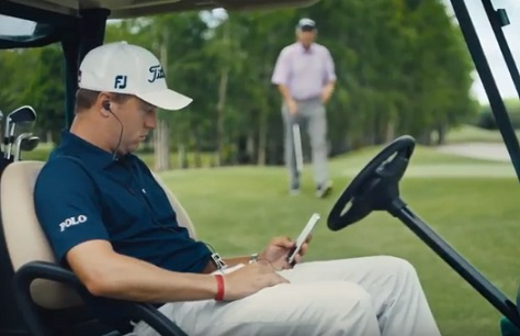 Citi Mobile App Commercial - Man in Golf Cart