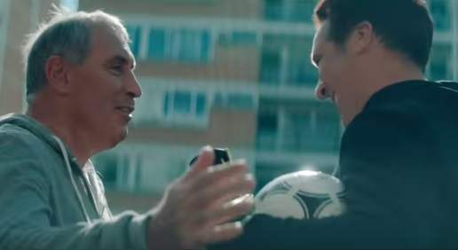 NHS Give Blood TV Advert - Goalkeepers Peter Shilton and David Seaman