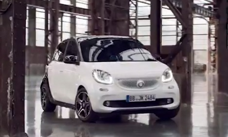 Smart Forfour TV Advert
