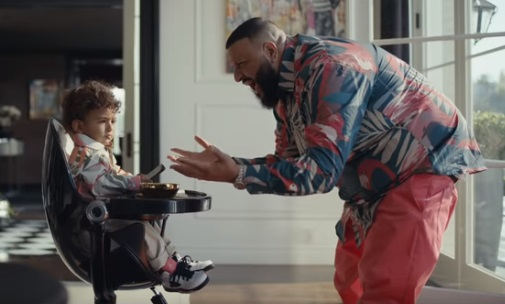 Apple Commercial - DJ Khaled and Son