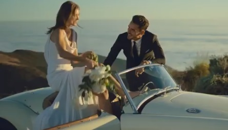 Estée Lauder Commercial - Bride Throwing Bouquet