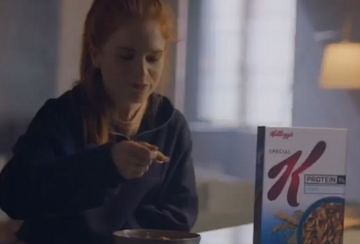 Kellogg's Special K Advert Girl