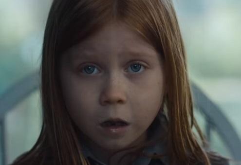 Little Girl in BT Sport Advert