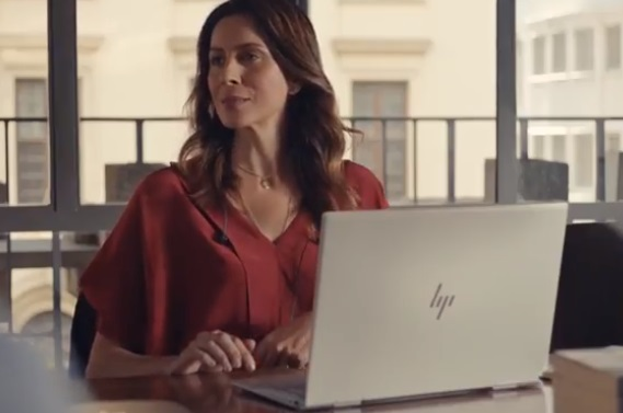 HP Envy Laptop Commercial Actress