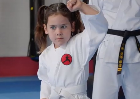 AAMI Karate Commercial - Little Girl Camilla
