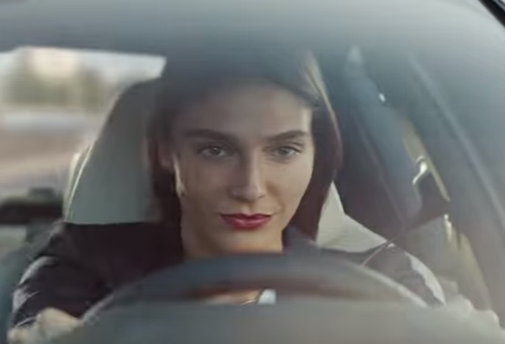 BMW M Town Commercial Actress