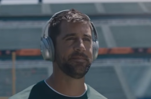 Bose Aaron Rodgers Commercial
