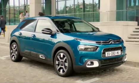 Citroën C4 Cactus Hatch TV Advert