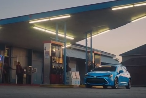 Toyota Corolla Hatchback Commercial