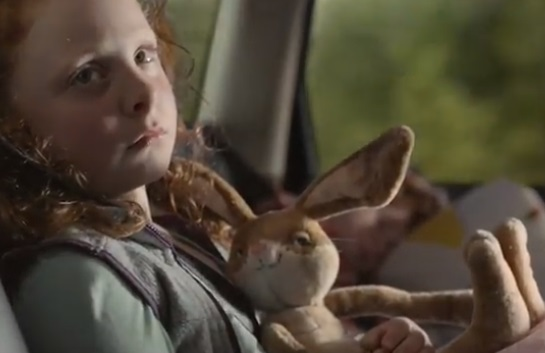 FedEx Commercial - Girl with Stuffed Tortoise and Rabbit