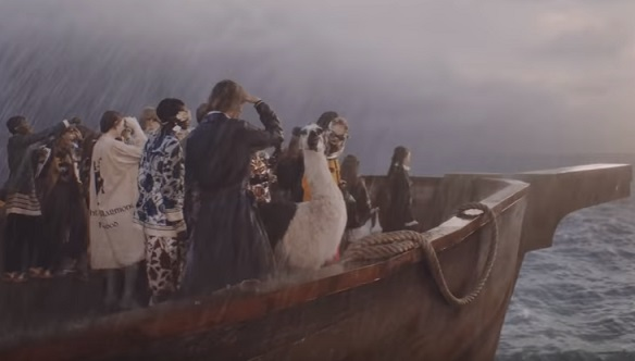 Gucci Gothic Commercial - Animals Going on Noah's Ark