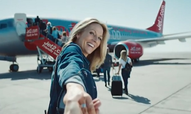 Jet2.com TV Advert - Woman Holding Partner's Hand