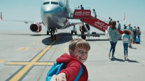 Jet2holidays TV Advert - Boy Holding Dad's Hand