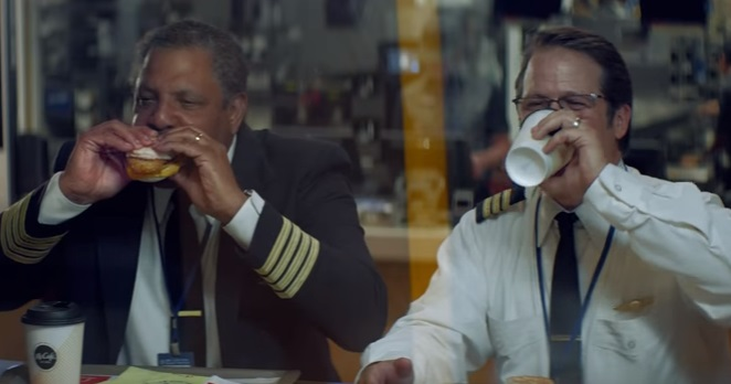 McDonald's Commercial - Airplane Pilots