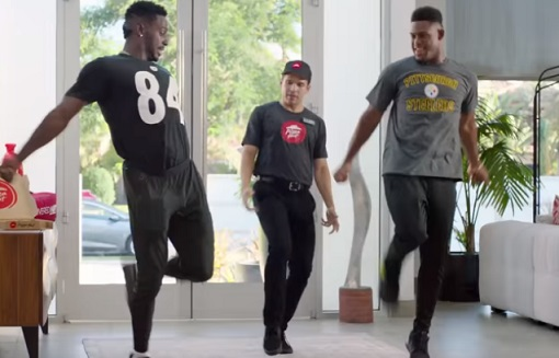 Pizza Hut Antonio Brown & JuJu Commercial