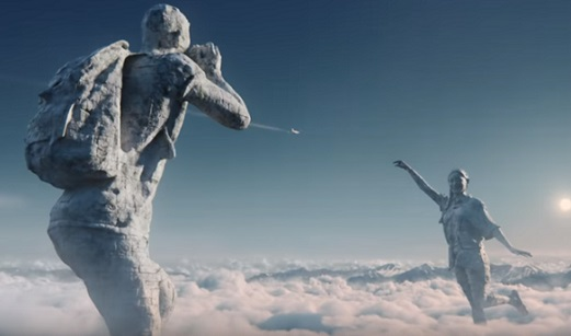 easyJet TV Advert - Couple in Clouds