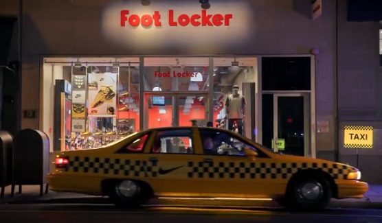 Foot Locker Taxi Commercial