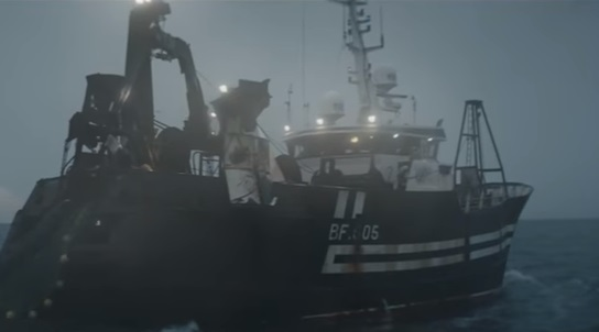 National Lottery Fisherman Advert - Fishing Vessel