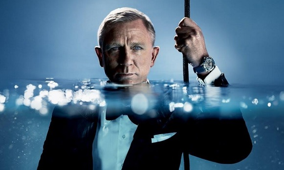 OMEGA Watch Daniel Craig Commercial