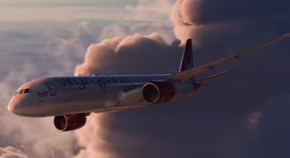 Virgin Atlantic Advert - Depart the Everyday