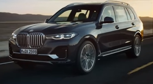 BMW X7 TV Advert