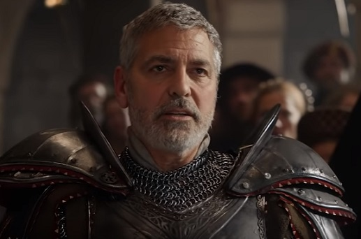 Nespresso Commercial - George Clooney as Knight in New York City