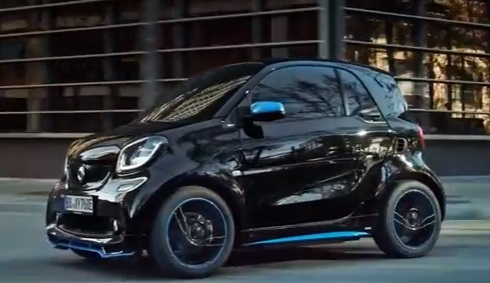 Electric Smart Eq Fortwo And Forfour Advert Song