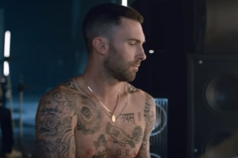 Yves Saint Laurent Commercial - Adam Levine Tattoos