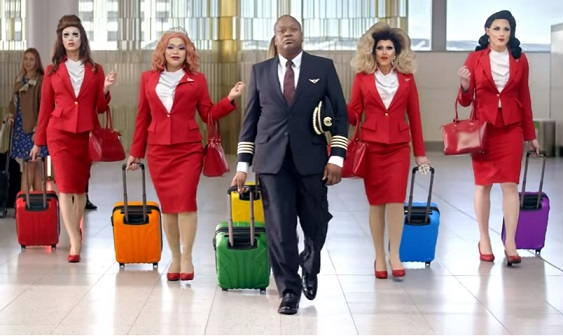 Virgin Atlantic Pride TV Advert - Actor Tituss Burgess