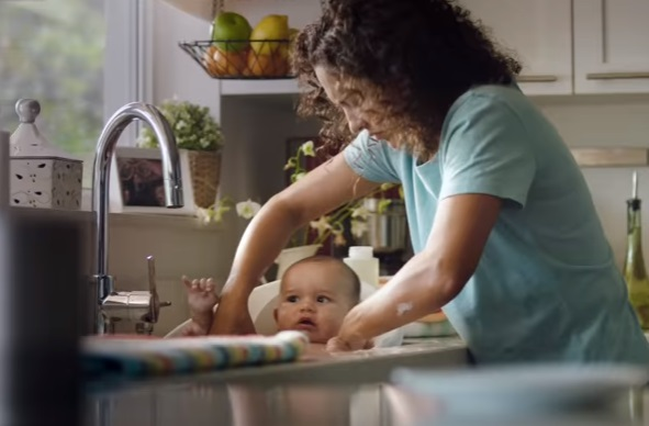 Whirlpool Commercial - Mom Washing Her Baby