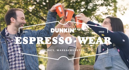 Dunkin' Espresso-Wear Commercial