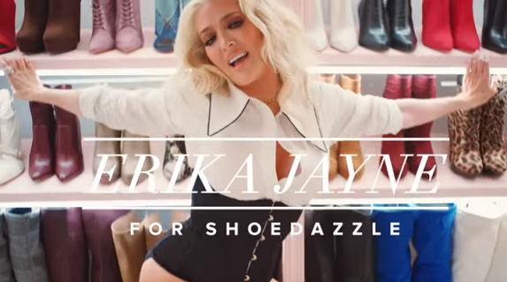 Erika Jayne for ShoeDazzle Commercial