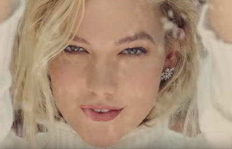 EXPRESS Karlie Kloss Christmas Commercial