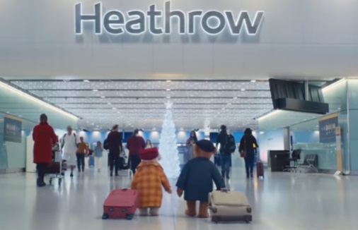 Heathrow Airport Christmas Advert - Bears