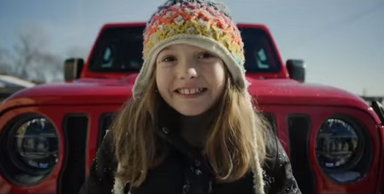 2020 Jeep Gladiator Commercial Girl