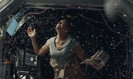 Macy's Christmas Commercial - Astronaut Woman