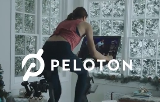 Peloton Bike Commercial - Indoor Cycling Girl
