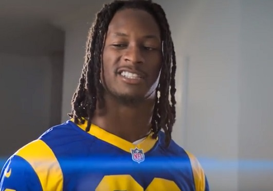 Pizza Hut Todd Gurley Commercial