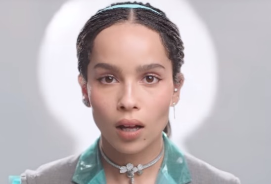 Tiffany & Co. Commercial - Actress Zoe Kravitz