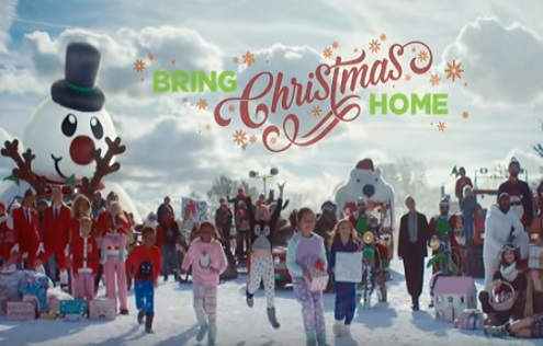 Asda Christmas TV Advert - Bring Christmas Home