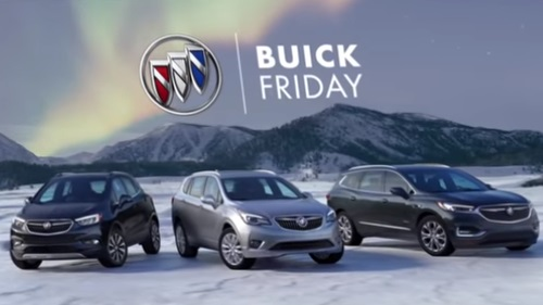 Buick Black Friday Commercial