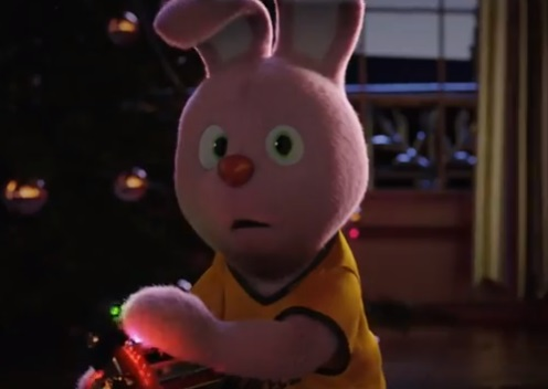 Duracell Christmas Advert Bunny