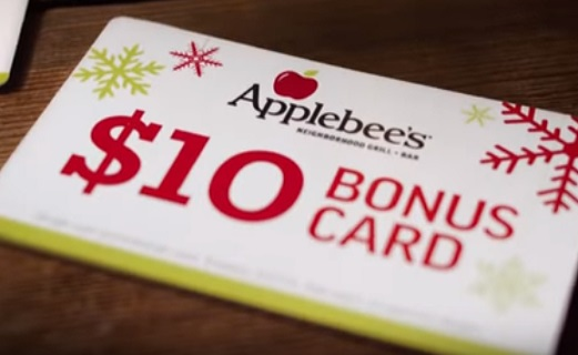 Applebee's Gift Card Commercial