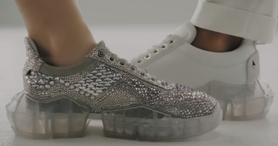 Jimmy Choo Diamond Sneakers Commercial
