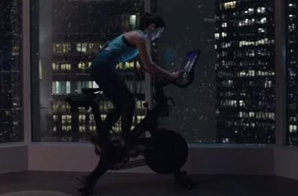 Peloton Bike Girl Cycling
