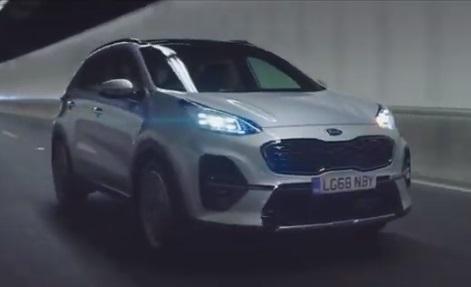 Kia Sportage Commercial