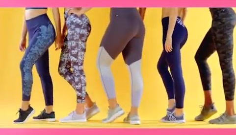 Fabletics Leggings Commercial